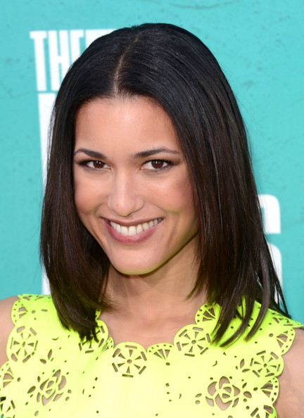 Julia Jones At Burberry Body Launch In Beverly Hills: 2012 MTV Movie Awards