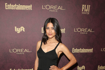Julia Jones FIJI Water At Entertainment Weekly Pre-Emmy Party