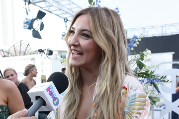 Julia Michaels SiriusXM's 'Hits 1 in Hollywood' Broadcasts From the Red Carpet Leading Up to the Billboard Music Awards at the T-Mobile Arena