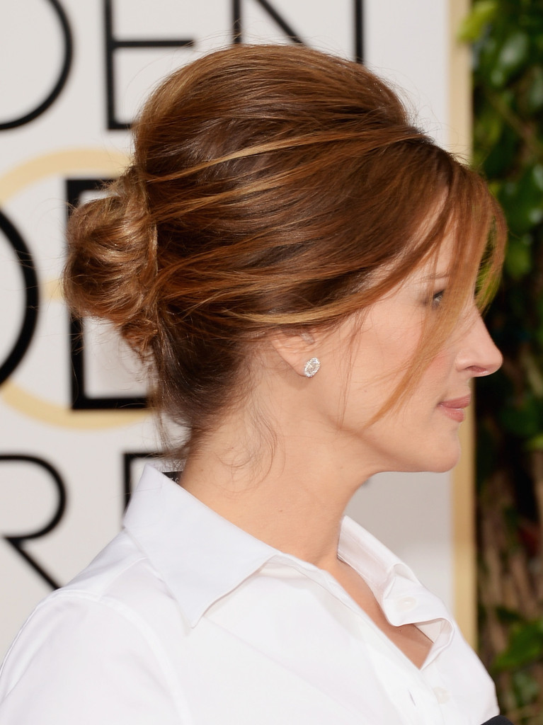 Hot Hair Of The Moment The Simple And Chic Bun Hair Trend Report
