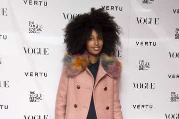 Julia Sarr Jamois The Vogue Festival In Association With Vertu - Opening Party - Arrivals