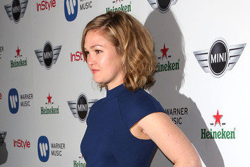 Julia Stiles Warner Music Group's 2013 Grammy Celebration - Arrivals