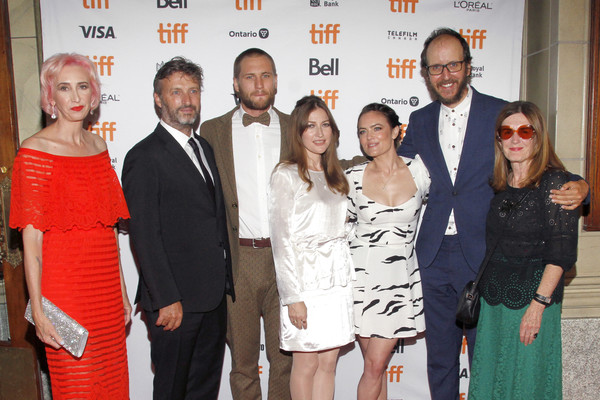 2019 Toronto International Film Festival - 'Dirt Music' Premiere [dirt music,event,fashion,premiere,polly staniford,kelly macdonald,jack thorne,julia stone,gregor jordan,george mason,l-r,toronto international film festival,premiere]