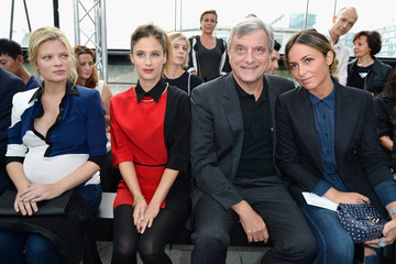 Julia Toledano Maxime Simoens  : Front Row - Paris Fashion Week Womenswear  Spring/Summer 2014
