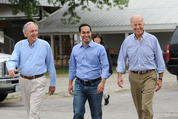 Julian Castro Vice President Biden Attends Sen. Tom Harkin's Annual Steak Fry