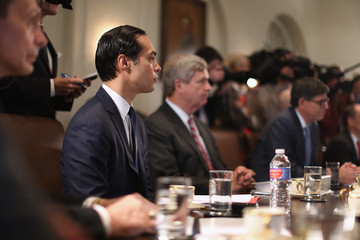 Julian Castro Barack Obama Meets with Cabinet Members