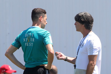 Julian Draxler Germany Training And Press Conference