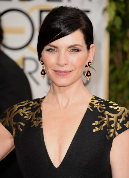 Julianna Margulies - 71st Annual Golden Globe Awards - Arrivals