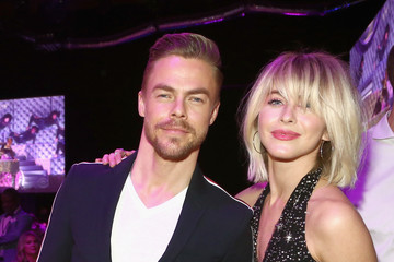 Julianne Hough Derek Hough Steven Tyler's 2nd Annual Grammy Awards Viewing Party To Benefit Janie's Fund Presented By Live Nation - Inside