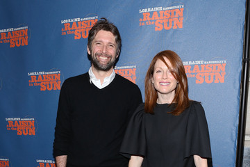 "Julianne Moore ""A Raisin In The Sun"" Broadway Opening Night - Arrivals & Curtain Call"