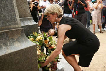 Julie Bishop Indigenous Australians Honoured On Anzac Day At Coloured Diggers March TBC