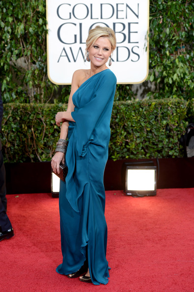 Julie Bowen Actress Julie Bowen arrives at the 70th Annual Golden Globe Awards held at The Beverly Hilton Hotel on January 13, 2013 in Beverly Hills, California.