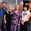 Julie James SiriusXM's 'On Broadway Curtain Call With The Cast Of Hadestown'