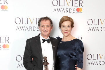Juliet Stevenson The Olivier Awards With Mastercard - Press Room