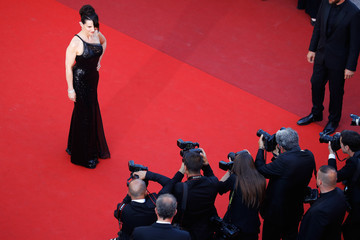 Juliette Binoche Closing Ceremony Red Carpet Arrivals - The 70th Annual Cannes Film Festival
