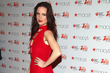 Juliette Lewis The American Heart Association's Go Red For Women Red Dress Collection 2017 Presented By Macy's at Fashion Week in New York City - Arrivals & Front Row