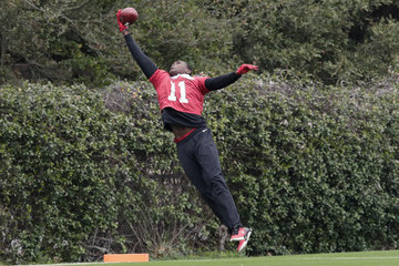 Julio Jones Atlanta Falcons Practice