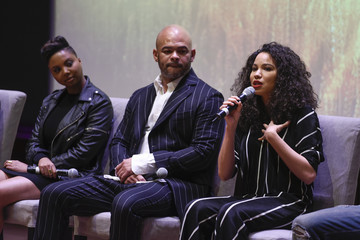 Jurnee Smollett-Bell WGN America's 'Underground' Season Two Premiere Screening At The Smithsonian National Museum Of African American History And Culture