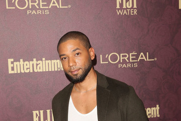 Jussie Smollett FIJI Water At Entertainment Weekly Pre-Emmy Party