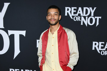 Justice Smith L.A. Screening Of Fox Searchlight's 'Ready Or Not' - Arrivals