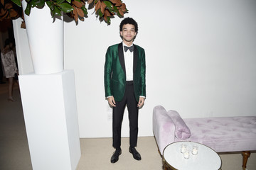 Justice Smith 13th Annual CFDA/Vogue Fashion Fund Awards - Inside