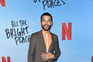 "Justice Smith Special Screening Of Netflix's ""All The Bright Places"""