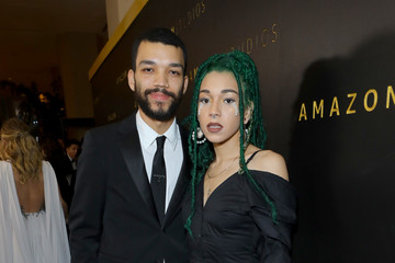 Justice Smith Amazon Studios Golden Globes After Party - Red Carpet