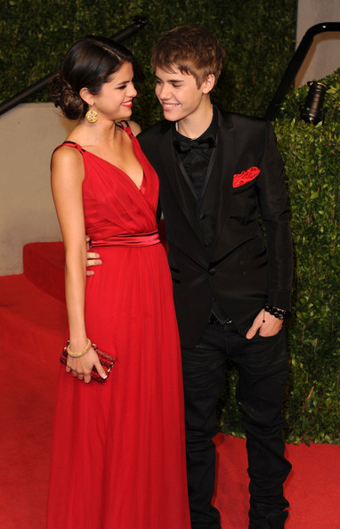 selena gomez and justin bieber vanity fair oscar party. 2011 Vanity Fair Oscar Party