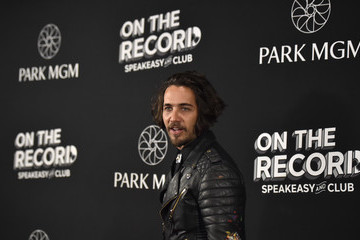Justin Brescia On The Record Speakeasy And Club Red Carpet Grand Opening Celebration At Park MGM