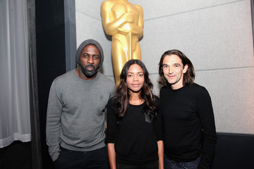 Justin Chadwick Idris Elba The Academy Of Motion Picture Arts And Sciences Hosts An Official Academy Members Screening Of Mandela: Long Walk To Freedom