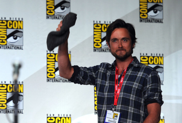 "Justin Chatwin Actor Justin Chatwin speaks at ""Showtime: Tired of Ordinary Television?"" New Season Preview at the San Diego Convention Center on July 21, 2011 in San Diego, California."