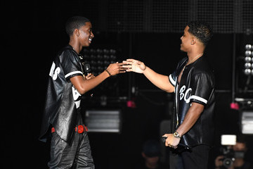 Justin Combs Puff Daddy and Bad Boy Family Reunion Tour at The Forum in Inglewood, CA