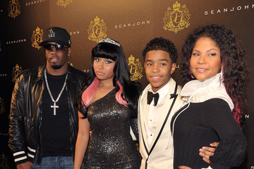 Misa Hylton Brim Justin Dior Comb's 16th Birthday Party