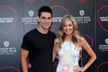 Justin Gaston Melissa Ordway The Warner Bros. Studio Tour Hollywood Expansion Official Unveiling, Stage 48: Script to Screen