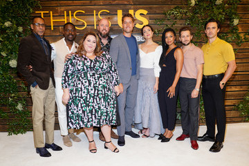 Justin Hartley Sterling K. Brown NBC's 'This Is Us' Pancakes With The Pearsons - Arrivals