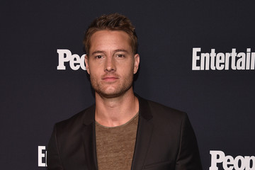 Justin Hartley Entertainment Weekly and PEOPLE Upfronts Party at Second Floor in NYC Presented By Netflix and Terra Chips - Arrivals