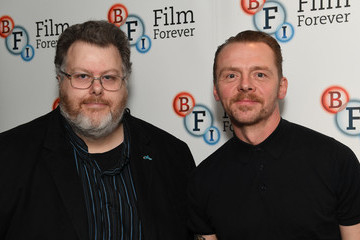 Justin Johnson Simon Pegg Speaks at BFI Screen Epiphany