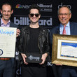 Justin Jones 2019 Billboard Music Awards Las Vegas Proclamation With Brendon Urie