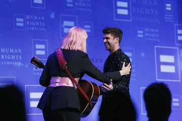 Justin Mikita The Human Rights Campaign 2019 Los Angeles Gala Dinner - Inside