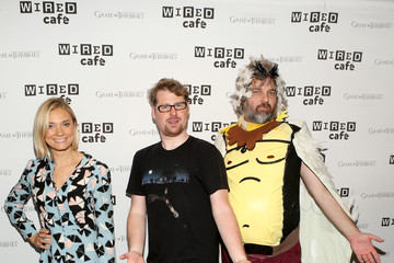 Justin Roiland WIRED Cafe @ Comic Con - Day 2