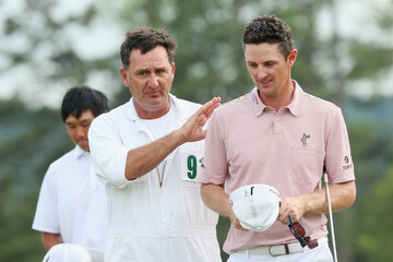 Justin Rose Mark Fulcher The Masters - Round Two