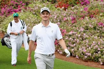 Justin Rose Mark Fulcher The Masters - Preview Day 2