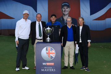 Justin Rose Sky Sports British Masters - Day Four