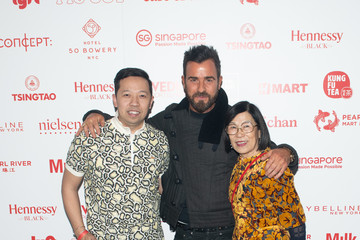 Justin Theroux Opening Ceremony Lunar New Year 2019 Celebration