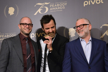 Justin Theroux The 75th Annual Peabody Awards Ceremony - Press Room