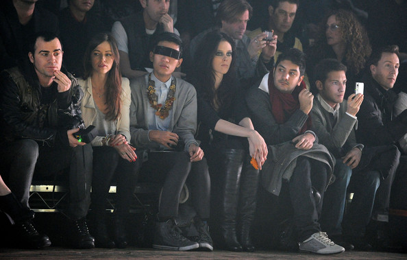 The Front-Row of The Week of The Fashion of New York Autumn/Winter 2010/11