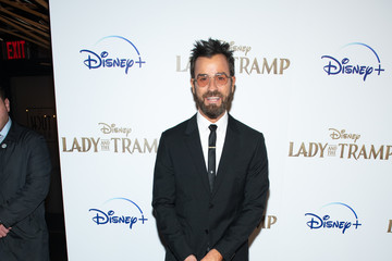 """Justin Theroux Disney+'s """"Lady And The Tramp"""" New York Screening"""