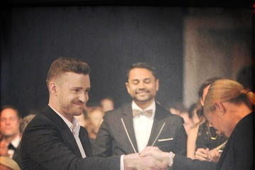 Justin Timberlake amfAR Inspiration Los Angeles Dinner