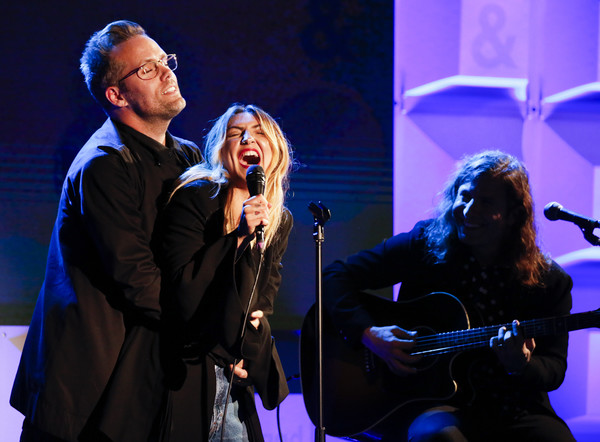 ?Julia Michaels with Justin Tranter