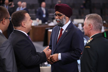 Justin Trudeau NATO Summit In Brussels - Day Two